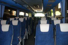 inside a coach